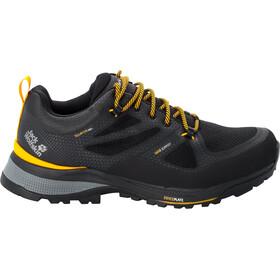 Jack Wolfskin Force Striker Texapore Low Shoes Men black/burly yellow XT